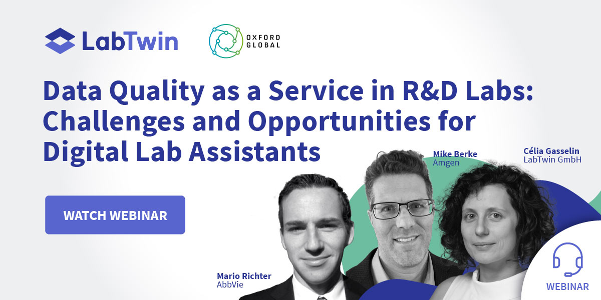 Data Quality as a Service in R&D Labs: Challenges and Opportunities for Digital Lab Assistants